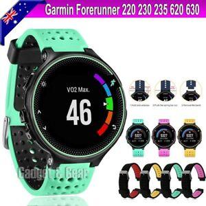 For Garmin Forerunner 220 230 235 620 630 735 XT Replacement Wrist Band Strap OZ