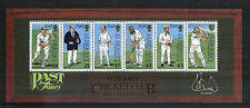 Alderney 1997 Cricket Club 150th Anniv ss-Attractive Sports Topical (105a) Mnh