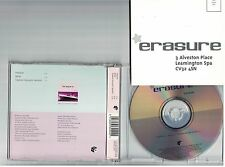 ERASURE FREEDOM ACOUSTIC Promo  + Letter Mute CD mint 3 track