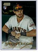 Steven Duggar 2019 Topps Stadium Club 5x7 Gold #238 /10 Giants