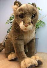 HANSA Plush Mountain Lion / Cougar / Puma (4255) Portraits of Nature