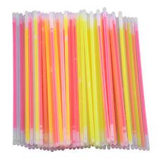 Light Glow Sticks Bracelets Necklaces Fluorescent For Neon Party Favors Wedding