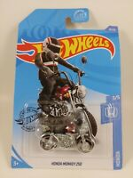 Honda Monkey Z50 - Maroon w/ Black | HW Honda 3/5 | Hot Wheels 10/250