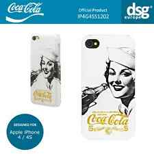 Coca-Cola Genuine Golden Beauty Case Cover Shell for Apple iPhone 4 / 4S