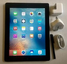 #GRADE A-#  iPad 3rd Generation 32GB Wi-Fi + 4G (Unlock) 9.7in, Black,