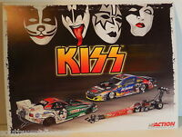 Action KISS Band Johnson Pedregon Kalitta NHRA Las Vegas 11 X 8 1/2 Handout Card