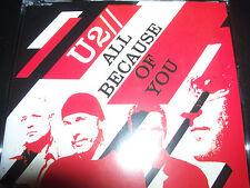 U2 All Because Of You (Australian) CD Single – Like New