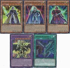Legendary Knight Deck - Legend of Heart - Critias - Timaeus 50 Cards + Bonus