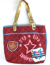 No Boundaries Red Tote Bag