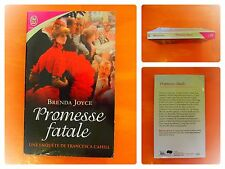 Promesse fatale. Une enquête de Francesca Cahill. Brenda Joyce.J'Ai Lu N° 8450
