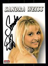 Sandra Weiss Autogrammkarte Original Signiert ## BC 75804