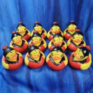 12 Spanish Spain Flamenco Quinceañera Rubber Ducks Birthday