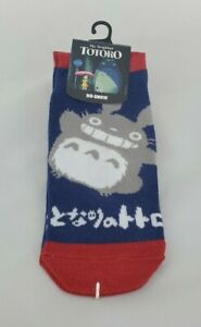 NEW My Neighbor Totoro No-Show Socks Bioworld Hot Topic Studio Ghibli Sizes 5-10