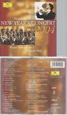 CD--RICCARDO MUTI UND STRAUSS LANNER--NEUJAHRSKONZERT 2004  | DOPPEL-CD