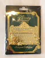 Disney Loveliest Pin Trading Diecast Gold Marquee Mickey Minnie DSSH LE 400