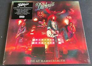 The Darkness - Live at Hammersmith CD  (still sealed) damaged sleeve