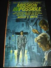 Mission Impossible By Wesley E. Smith 1969 Pyramid Inspiration N-2121 Paperback