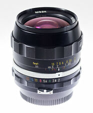 Nikon Nikkor - N . C Auto  28 mm f 2,0 mit Nikon F / Pre Ai Anschluss SN 316417
