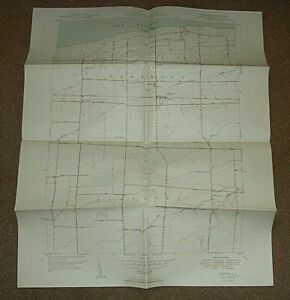 1949  BARKER N,Y. QUADRANGLE MAP - NEW YORK USA