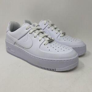 Nike Air Force 1 Sage Low Triple White AR5339-100 Men's Size 9.5