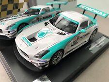 """Carrera Digital 124 23837 Mercedes-Benz SLS AMG GT3 """"Petronas, No. 28"""" BOX OVP"""