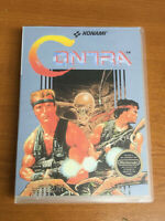 Contra Konami NES Nintendo Entertainment System Retro Universal Game Box Repro