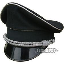WX Elite Schirmmütze XX General Allgemeine 61cm WGT Gothic schwarz Cap Black