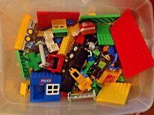 10+ Pounds Lbs Lego Duplo Lot Blocks Figures Cars Disney Police Base Plate Train