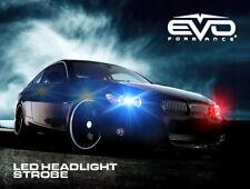 Evo Formance Universal Led Strobe Headlights Kit 3 Watt Bluered For Car Truck