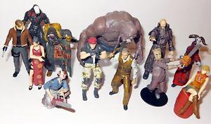 Agatsuma Resident Evil 4 MiniFigure Zombie Rare Biohazard Toy Krauser Leon Ada