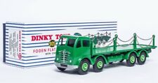 1:43 ATLAS DINKY TOYS / SUPERTOYS 905 FODEN FLAT TRUCK WITH CHAINS CAR MODEL NEW
