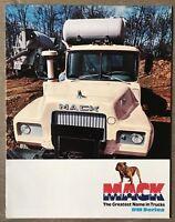1976 Mack DM Series original American sales brochure