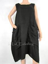 Vestiti da donna neri senza marca in lino