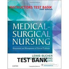 TEST BANK Medical-Surgical Nursing, Lewis 10th Edition TEST BANK