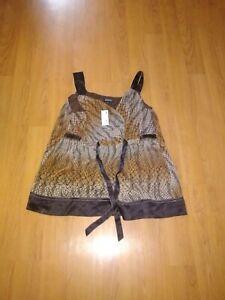 Avenue 18 20 Tank Tops Sleeveless Shirts Plus Size Brown Cami. Free shipping