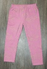 Jessica Simpson Baby Toddler Girl Leggings Pink w/ Gold Stars ~24 Months NWOT