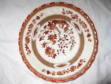 Spode Indian Tree Coupe Cereal Bowl in Orange Rust