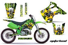 Dirt Bike Grafica Kit Decalcomania Adesivo per Kawasaki Kx125 Kx250 92-93 Motohd