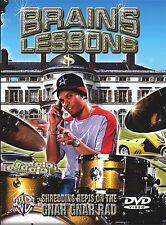BRAIN OF PRIMUS DRUM LESSON DVD GNAR GNAR RAD DRUMS