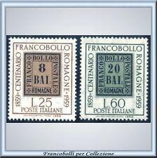 1959 Italia Repubblica Francobolli Romagne n 875/876 **