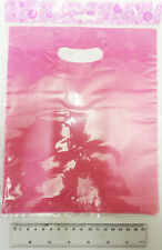 "HOT PINK HEN NIGHT SWEET GOODY PARTY GIFT LOOT FAVOUR BAGS 8""x10"" PACK OF 10"