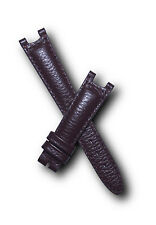 Brown Buffalo Grain leather watch band for TAG Heuer S/el SEL mid-sized models