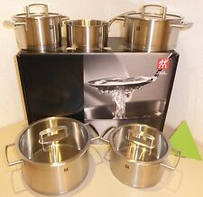 TWIN Saucepan VITALITY 5 PCs. Stainless steel 5 piece INDUCTION-COMPATIBLE NEW