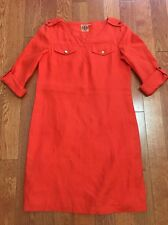 5378eac8cf6 Tory Burch 100% Linen Shirt Dress Size 2