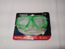 New listing Speedo Adventure Junior Swim Mask Durable Polycarbonate Lenses- Green