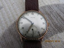 for sale VINTAGE******* 1946 MAJEX SOLID GOLD CASE*******wrist watch