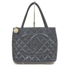 Chanel Tote Bag  Black Caviar Skin 1508478