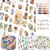 Album Decor Kawaii  Diary Label Boxed Stickers Scrapbooking Paper Sticker