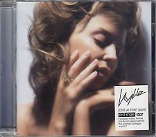 KYLIE MINOGUE - LOVE AT FIRST SIGHT DVD SINGLE Comme NEUF