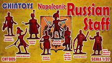 Chintoys 1/32 Napoleonic Russian Staff - BAGGED, NO BOX # 005